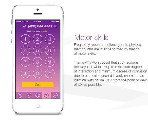 iOS 7 concept voor Viber-app - appletips