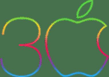 apple jarig Apple viert het 30 jarig bestaan van de Mac   appletips apple jarig