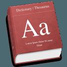 woordenboek icon retina