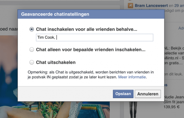 facebook-chat-uitschakelen