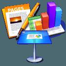 Delen en samenwerken aan bestanden in Pages, Keynote en Numbers
