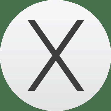 algemeen OS X logo