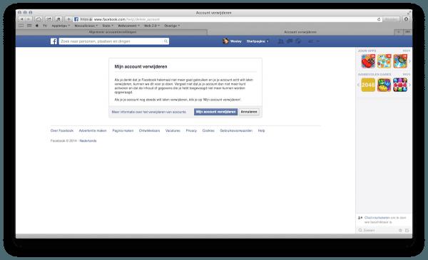 facebookverwijderenweb