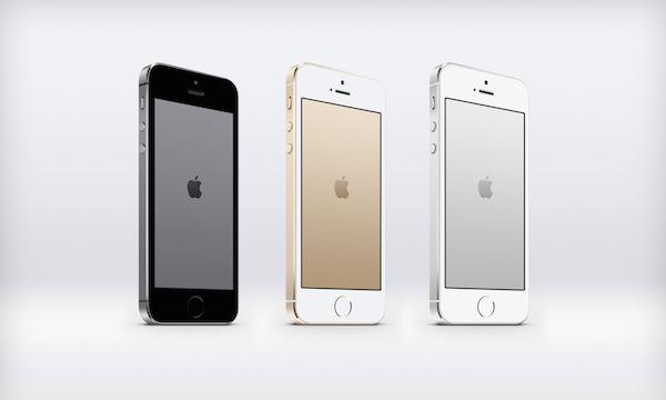 iPhone 5S Metal Logo