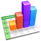 numbers retina icon new
