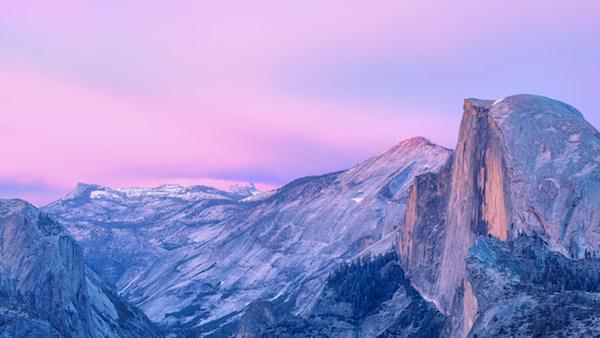 Yosemite zonsopgang