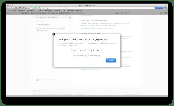App-specifieke wachtwoorden