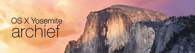 OS X Yosemite vanaf nu beschikbaar!