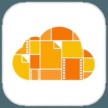 iCloud Drive icoon mobiel netwerk