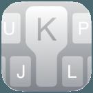 quick type logo toetsenbord