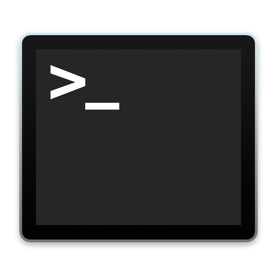 terminal logo OS X