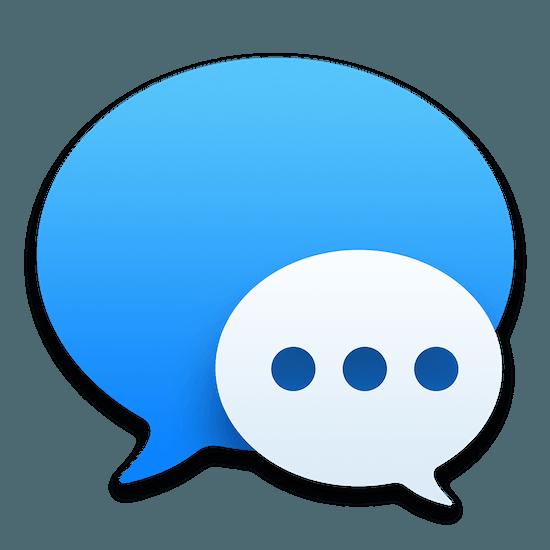 Berichten iMessage icoon OS X