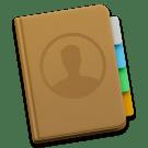 contacten applicatie logo OS X