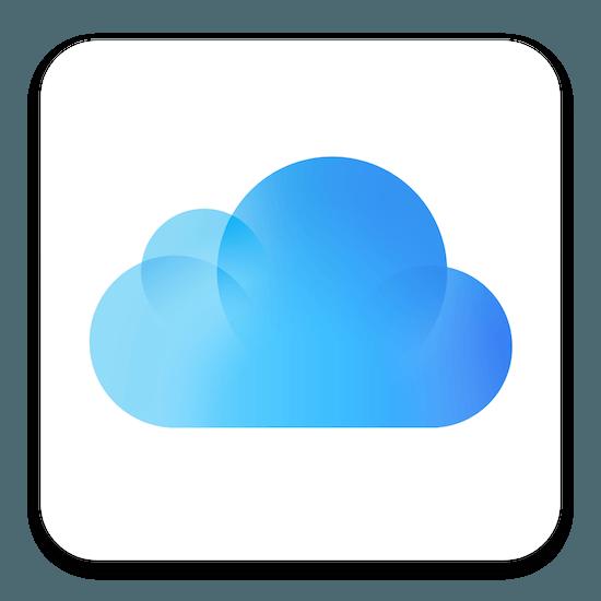 iCloud os x icoon