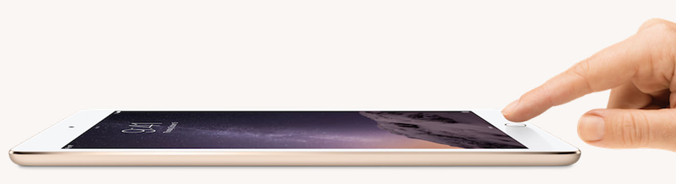 Nieuwe iPad Air 2 en iPad mini 3 met Touch ID
