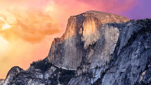 OS X Yosemite Retina