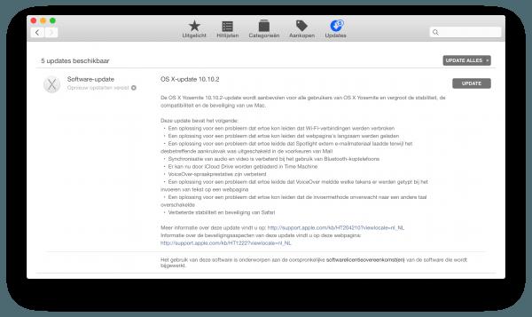 OS X 10.10.2 update