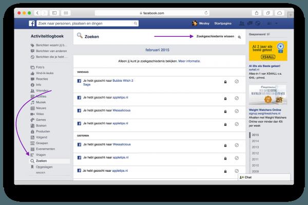 facebook geschiedeniswissen