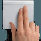 Mac: Slepen met behulp van drie vingers activeren