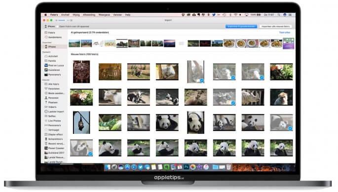 Handmatig Video's en foto's importeren