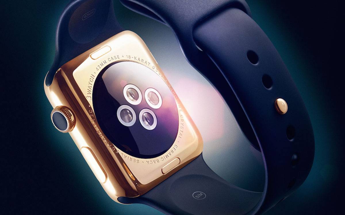 Gold Apple Watch (WIRED)