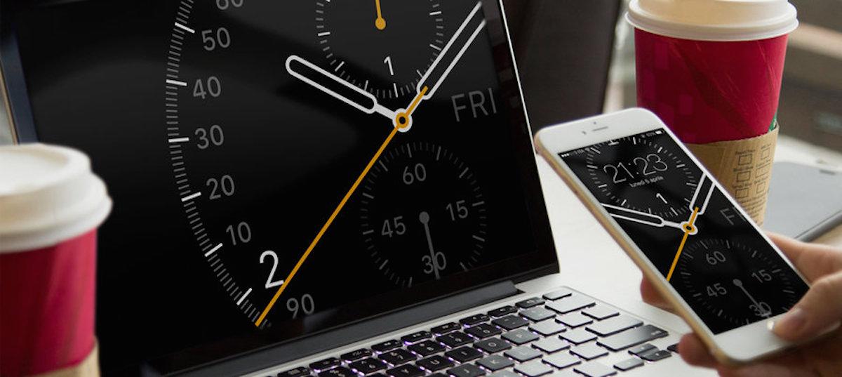  Watch black clock