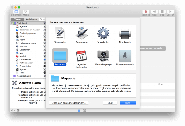 Automator script downloads