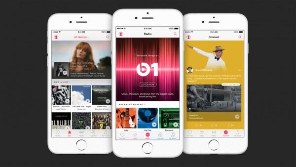 Apple music overzicht