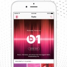 beats 1 op een iPhone