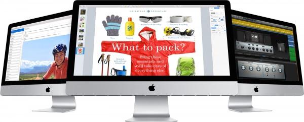 voorbeeld van een iMac