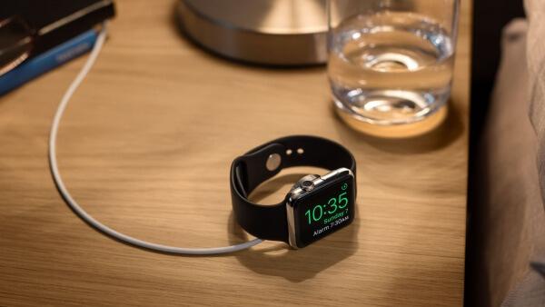 nachtmodus Apple Watch