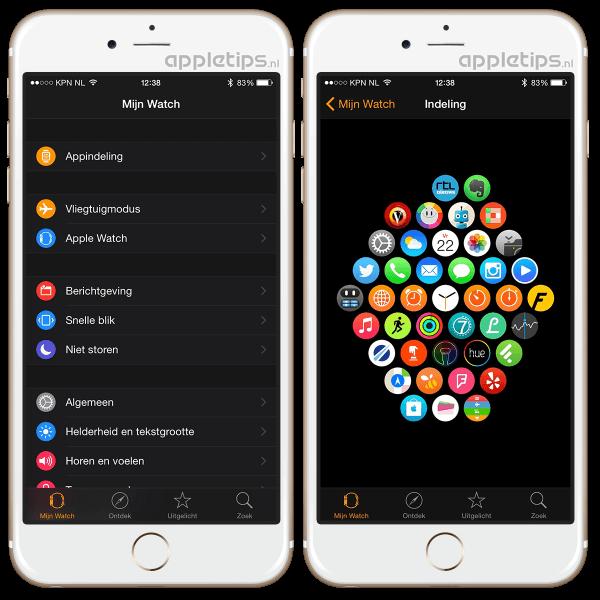 Apple Watch app iPhone
