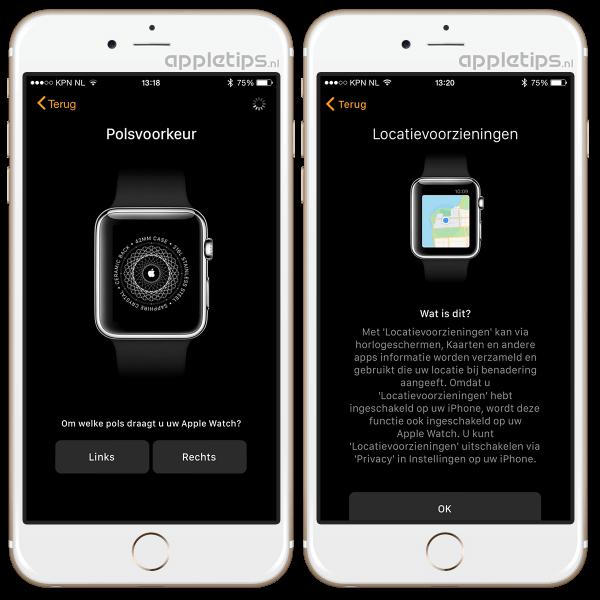 Hoe Apple Watch koppelen