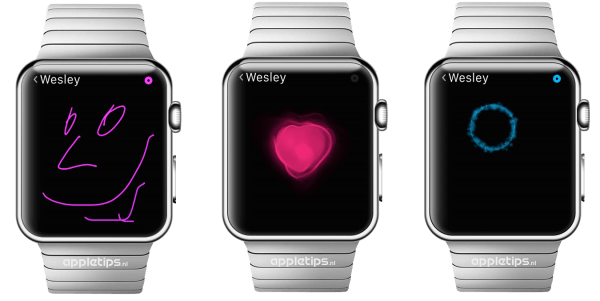 Digitale touch Apple Watch