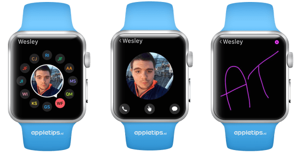 Vrienden Apple Watch