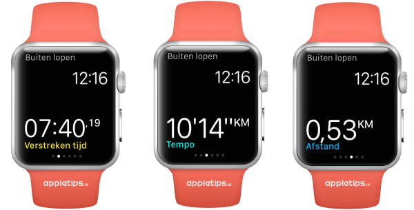 Apple Watch work-out app