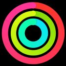 Apple Watch icon voor activiteit calorieën