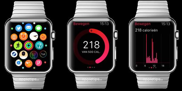 activiteit app Apple Watch