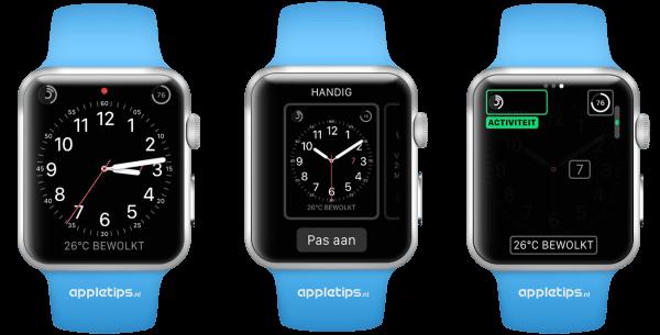 activiteit app Apple Watch complicaties