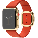 apple watch edition goud red