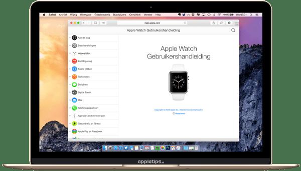 Apple Watch handleiding