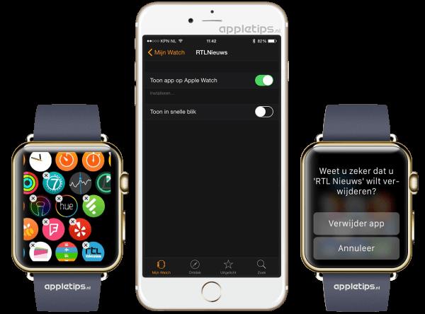 apple watch apps installeren
