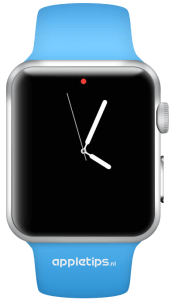 Wijzerplaat Apple Watch eenvoud
