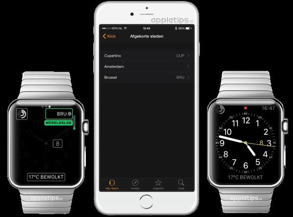 digitale klok Apple Watch