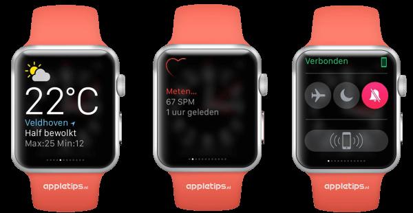 Snelle blik op Apple Watch
