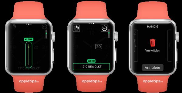 Wijzerplaten aanpassen Apple Watch