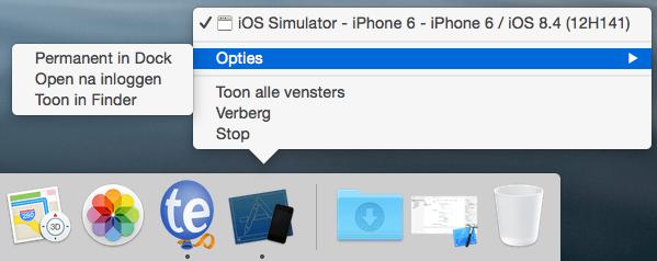simulator xcode