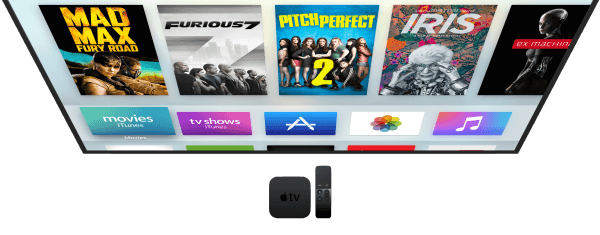 Apple TV 4 home