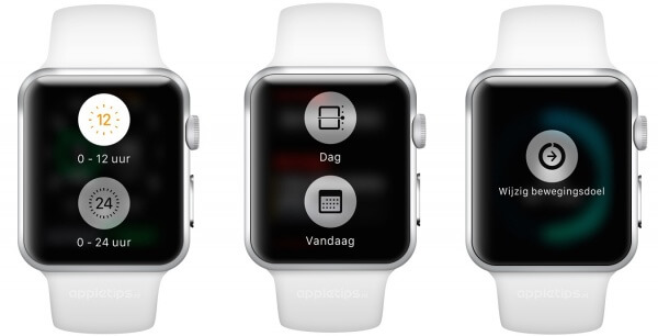 Force Touch op Apple Watch