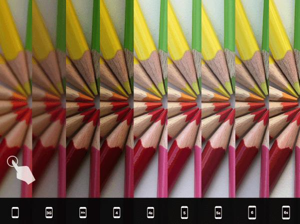 camera vergelijken iPhones